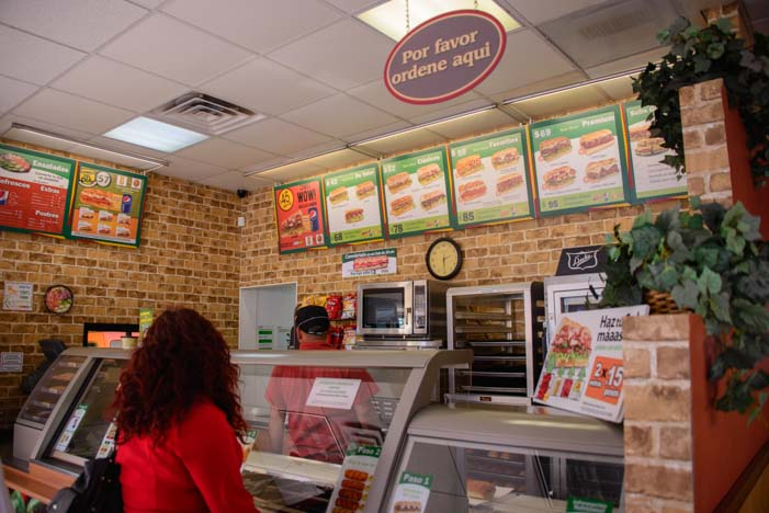 Inside Subway San Luis Mexico
