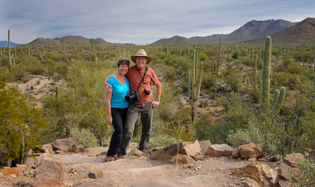 Saguaro National Park Petroglyphs Tucson Mountains Az