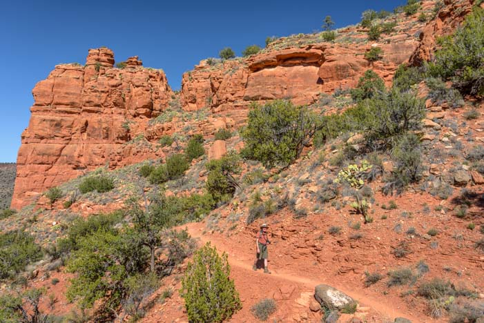 Hiking Bell Trail Sedona Arizona