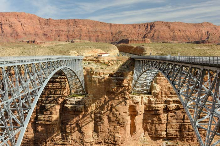 Navajo Bridge Marble Canyon Arizona
