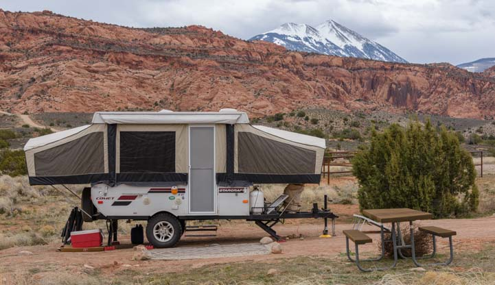 Popup Camper Moab Utah