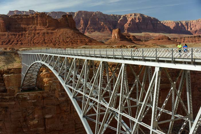 Navajo Bridge Overlook Marble Canyon Arizona
