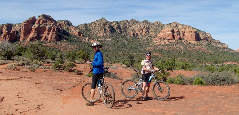Bikers Bell Rock Pathway Sedona Arizona