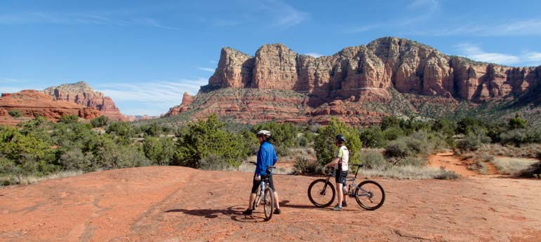 Flat rocks MTB Bell Rock Pathway Arizona