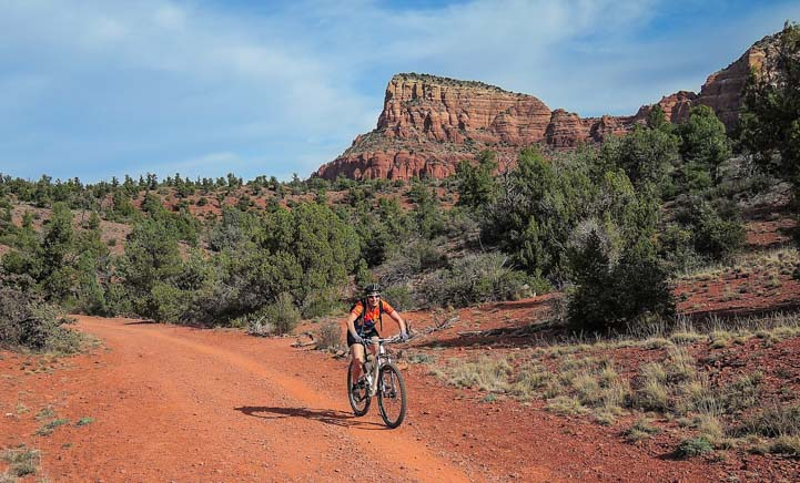 Bell Rock Pathway Mountain Biking Sedona AZ