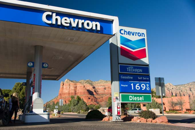 Chevron Station Village of Oak Creek Sedona Arizona
