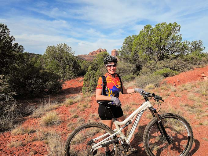 Mountain bike Bell Rock Pathway Sedona Arizona