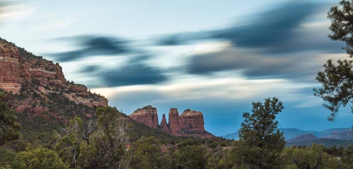 Wild Skies at Cathedral Rock Sedona Arizona