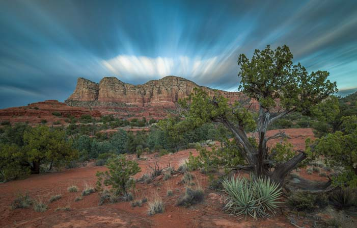 Bell Rock Pathway night views Sedona AZ