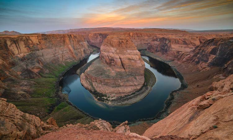 Sunrise Horseshoe Bend Arizona