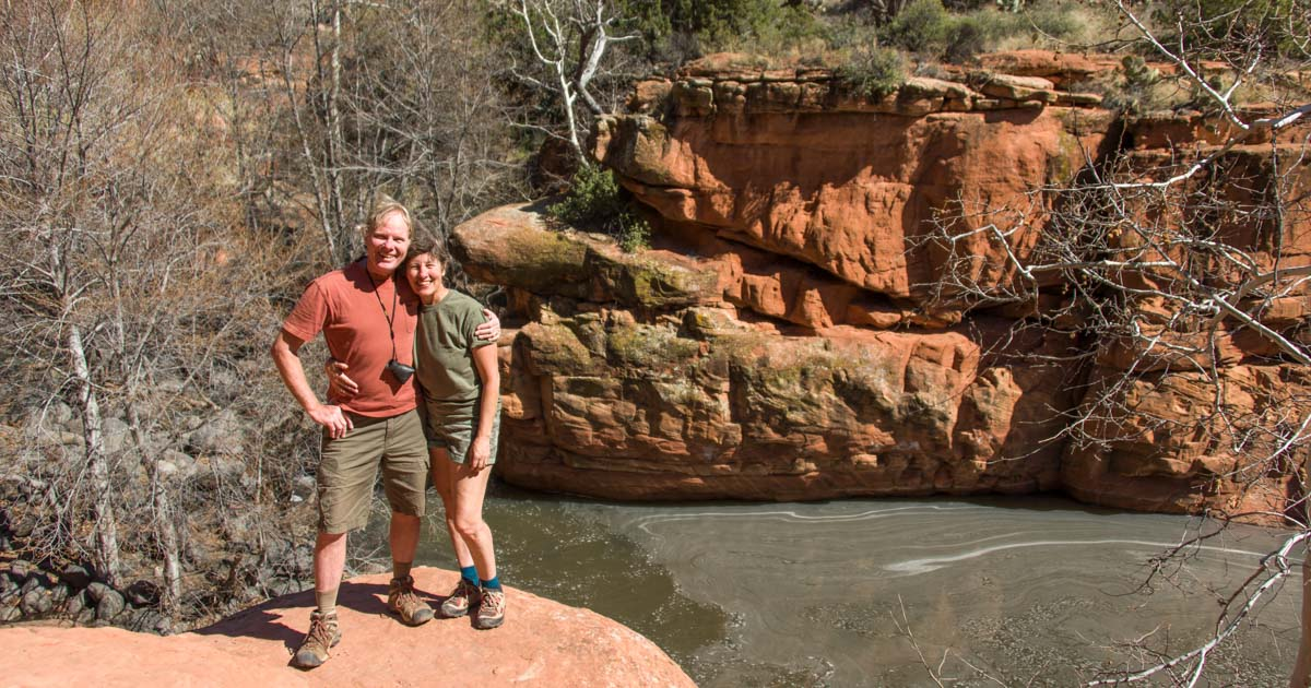 Bell Trail Hike to Wet Beaver Creek The Crack Sedona Arizona