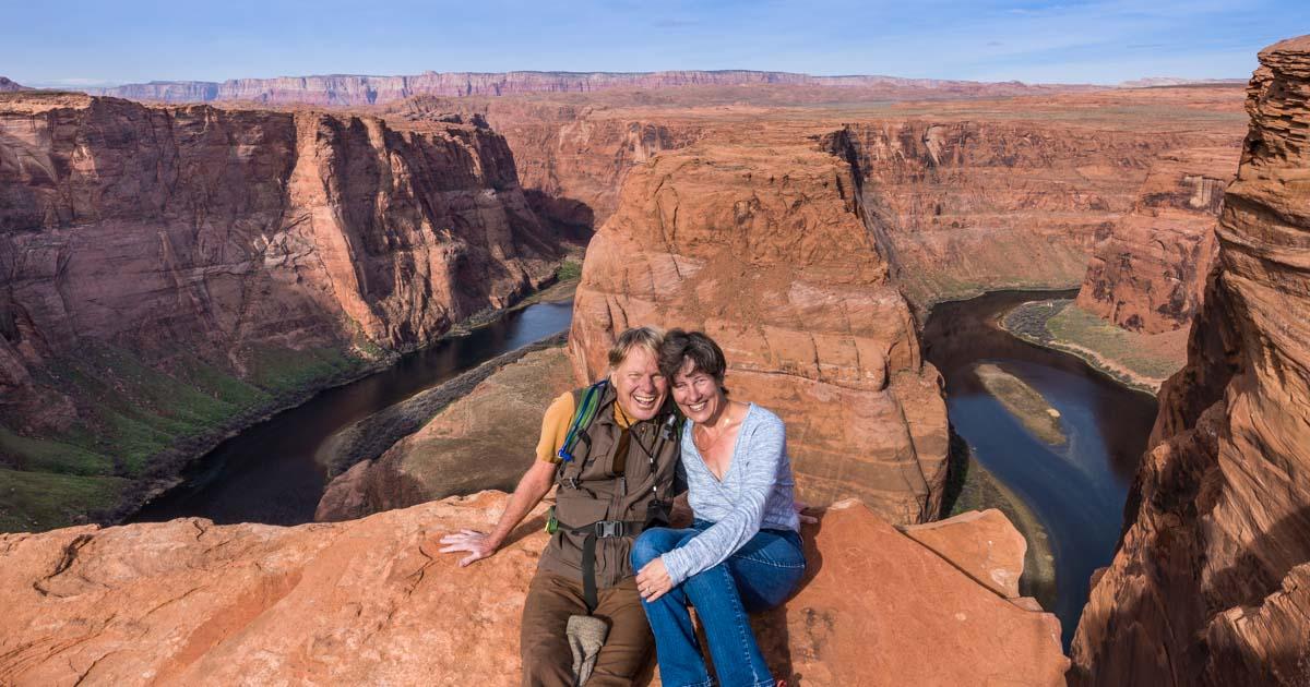 Horseshoe Bend Overlook Page Arizona Stunning