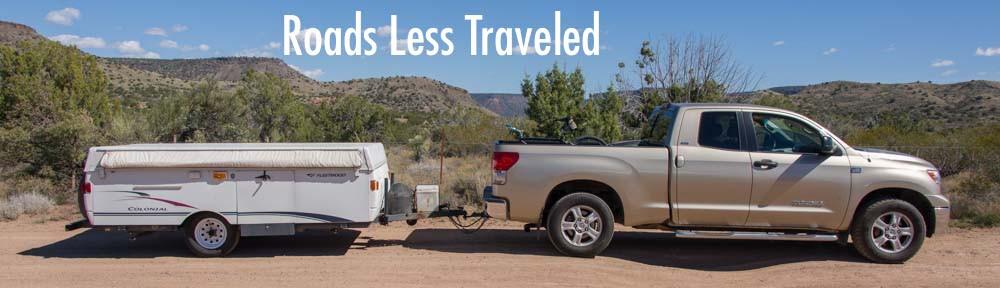 Popup Camper Tent Trailer RV In Arizona