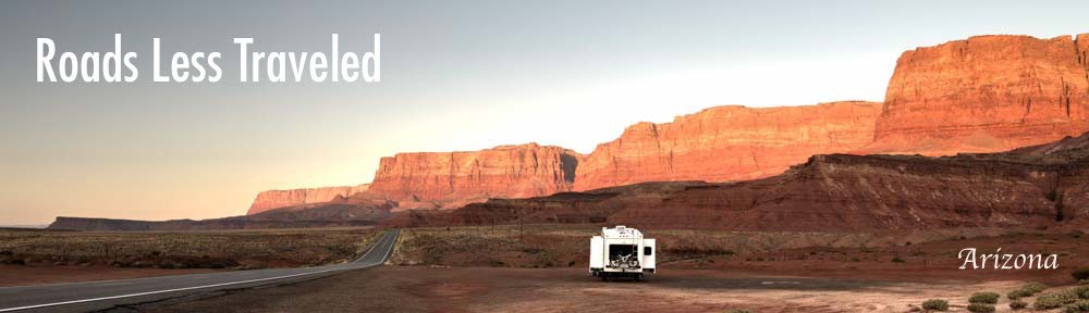 RV camped at Lees Ferry Arizona