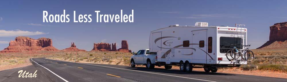 RV in Monument Valley Utah