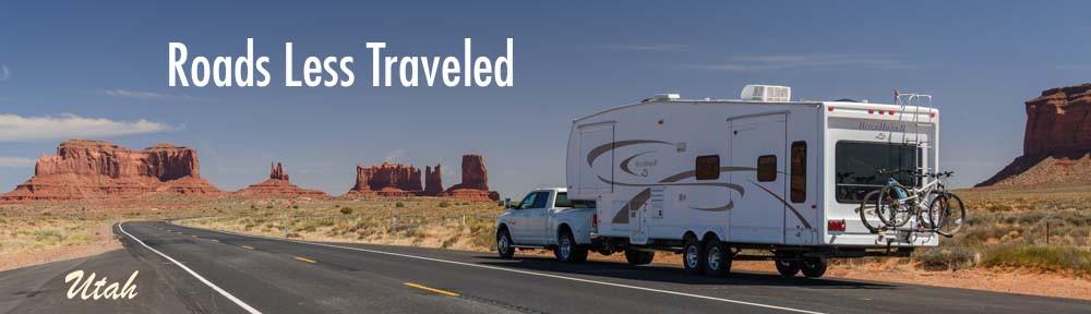 RV travel in Monument Valley Utah