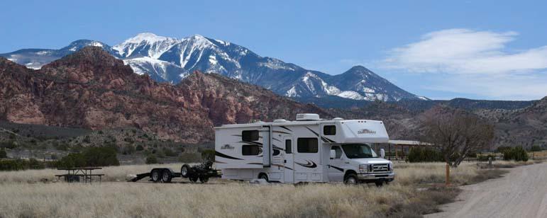 Motorhome RV Moab Utah