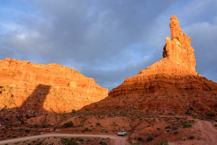 Valley of the Gods Scenic Drive Utah