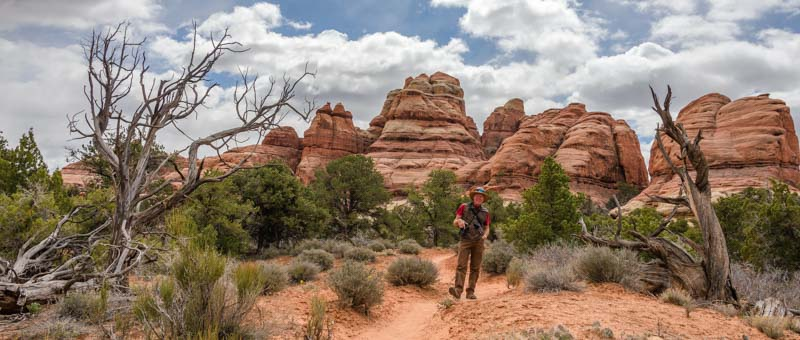 Chesler Park Hike Canyonlands National Park Utah