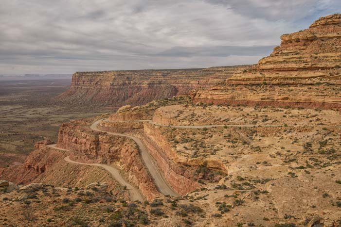Moki Dugway Valley of the Gods Utah