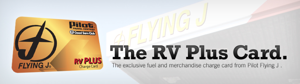 Pilot Flying J RV Traveler Discount Card