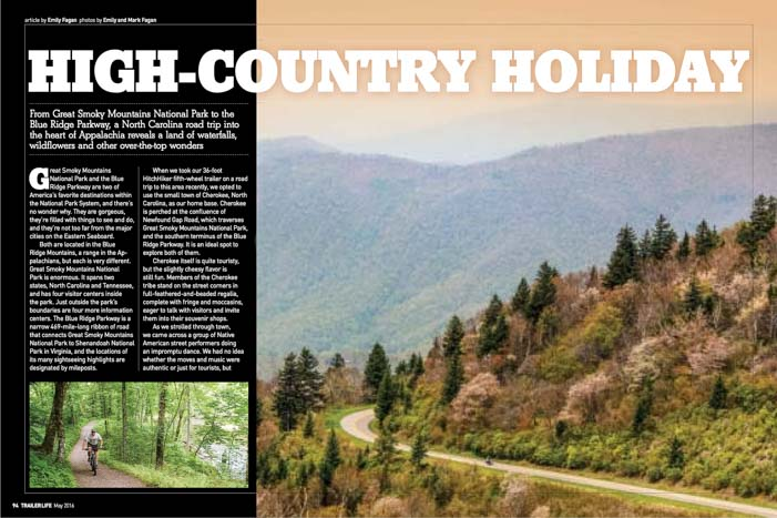 Trailer Life Magazine High Country Holiday