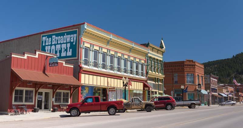 Philipsburg Montana main street