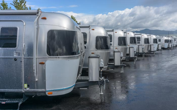 Airstream Travel Trailer RV