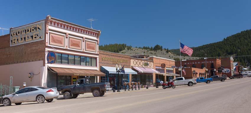 Philipsburg Montana cute main street town