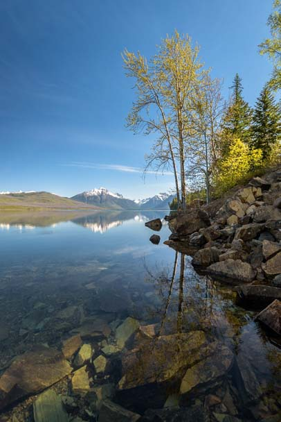 Dawn Glacier National Park Lake McDonald Montana