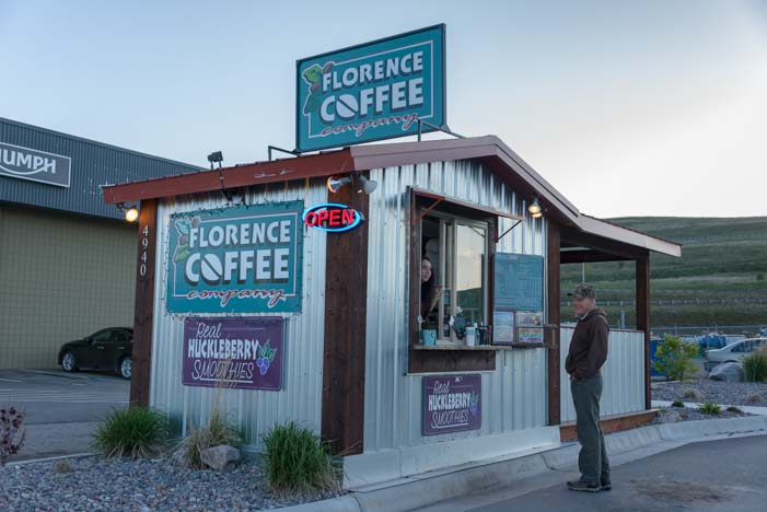 Florence Coffee Kiosk next to Bretz RV & Marine