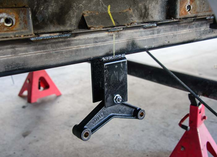New trailer tandem axle equalizer