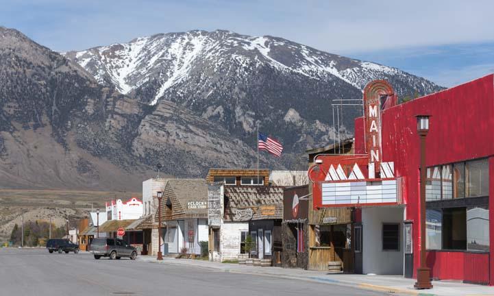 Mackay Idaho main street
