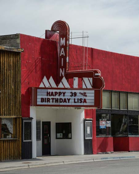 Main Street Cinema Mackay Idaho