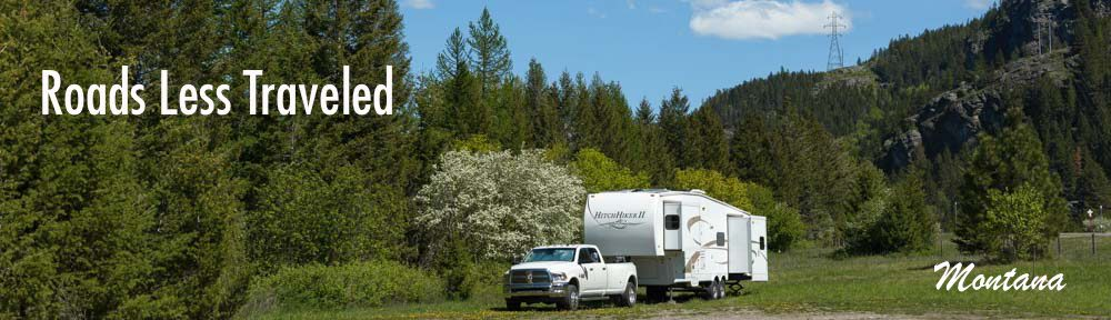 Montana RV travel and camping adventure