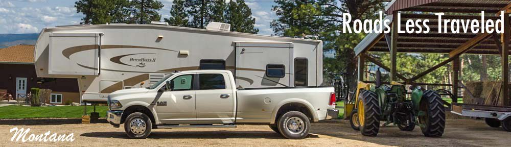 Montana RV travel camping ranching adventures