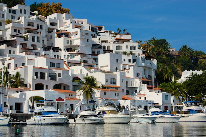 Boats at the Las Hadas Resort Marina Manzanillo Mexico Pacific Coast Costalegre (2)