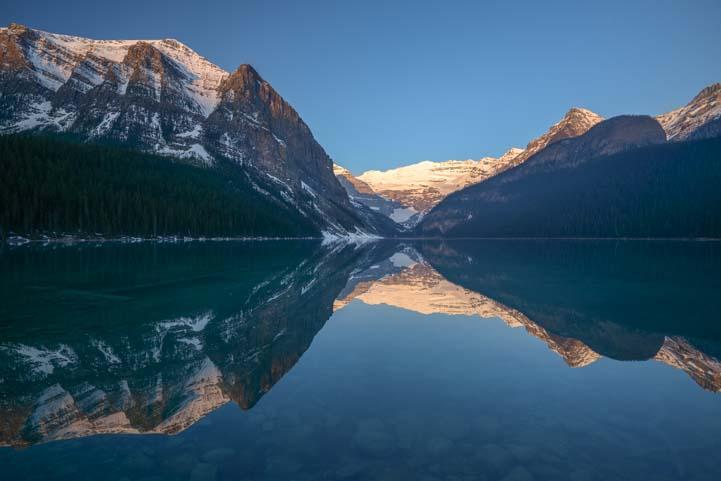 Lake Louise Dawn Banff National Park Alberta Canada