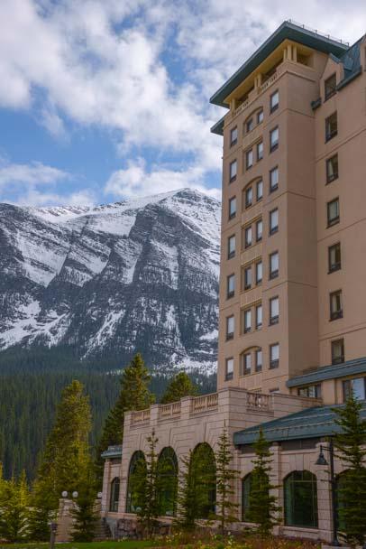 Fairmont Chateau Lake Louise Hotel Alberta Canada
