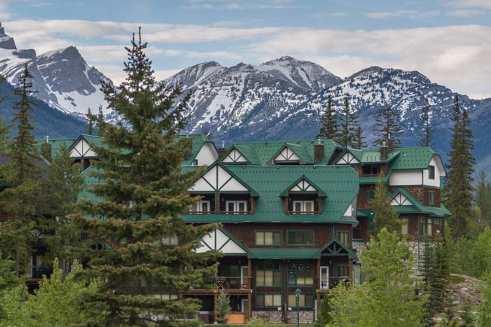 Ski lodge Fernie British Columbia Canada