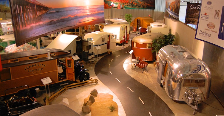 RV-MH Hall of Fame Museum Road Back in Time