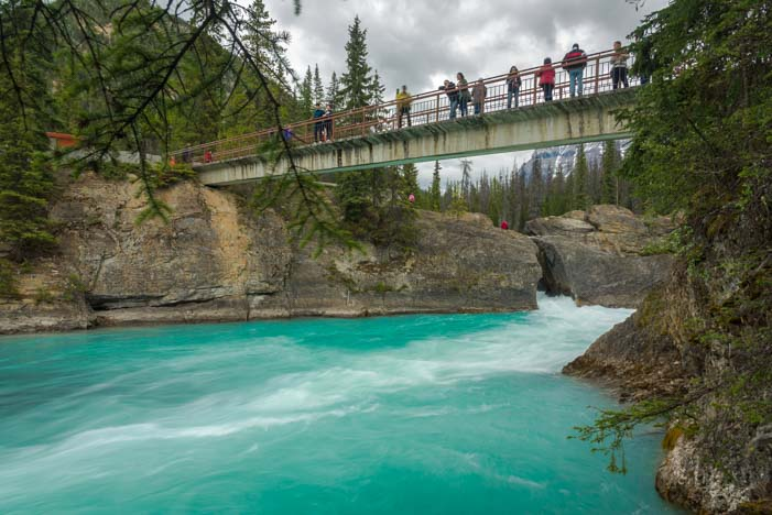 Bridge at Natural Bridge Yoho National Park British Columvia