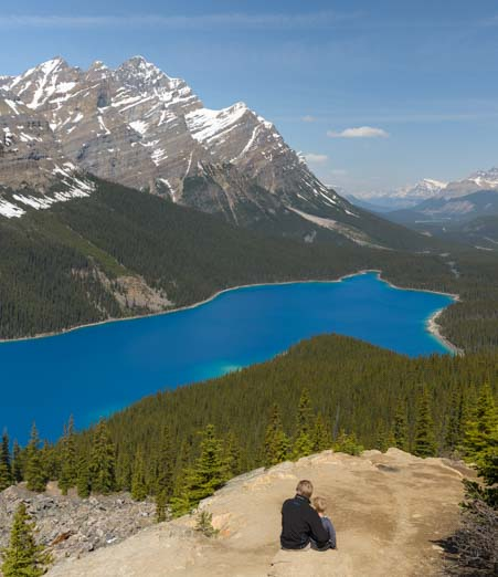 Peyto Lake Icefields Parkway Banff National Park Alberta Canada