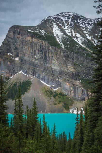 Turquoise Lake Louise Banff National Park