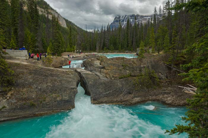 Natural Bridge Yoho National Park British Columbia