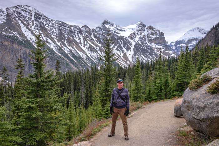 Lake Agnes Tea House Trail Banff National Park Canada