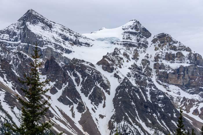 Canadian Rockies Lake Agnes Tea House Hike Banff National Park