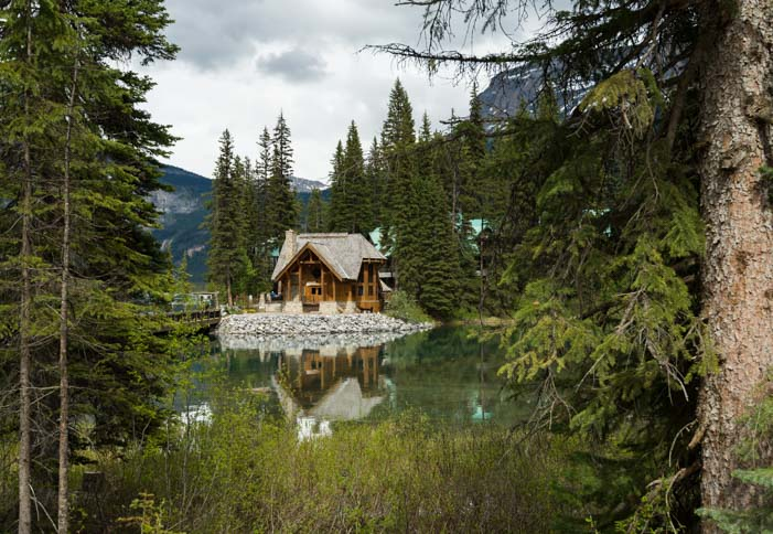 Emerald Lake Lodge Yoho National Park Canadian Rockies