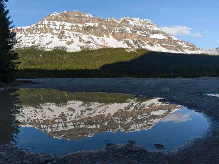 Reflections Canadian Rocky Mountains Icefields Parkway Banff