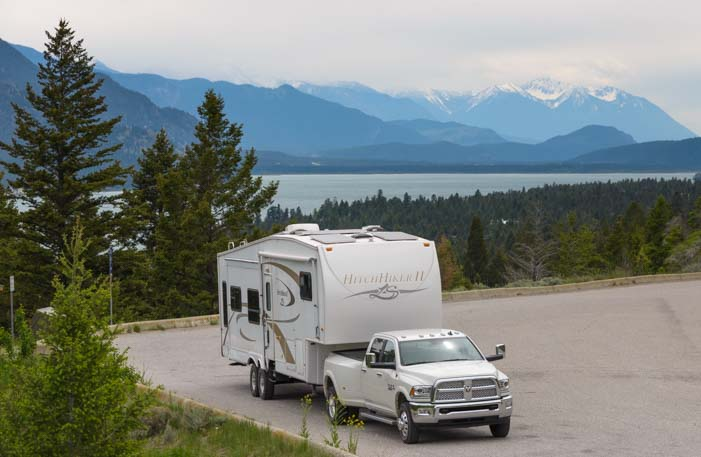 RV travel and camping in British Columbia Canada